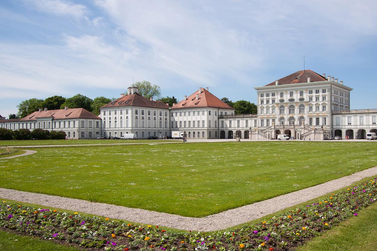 Schloss Nymphenburg Park, Schlosscafé im Palmenhaus