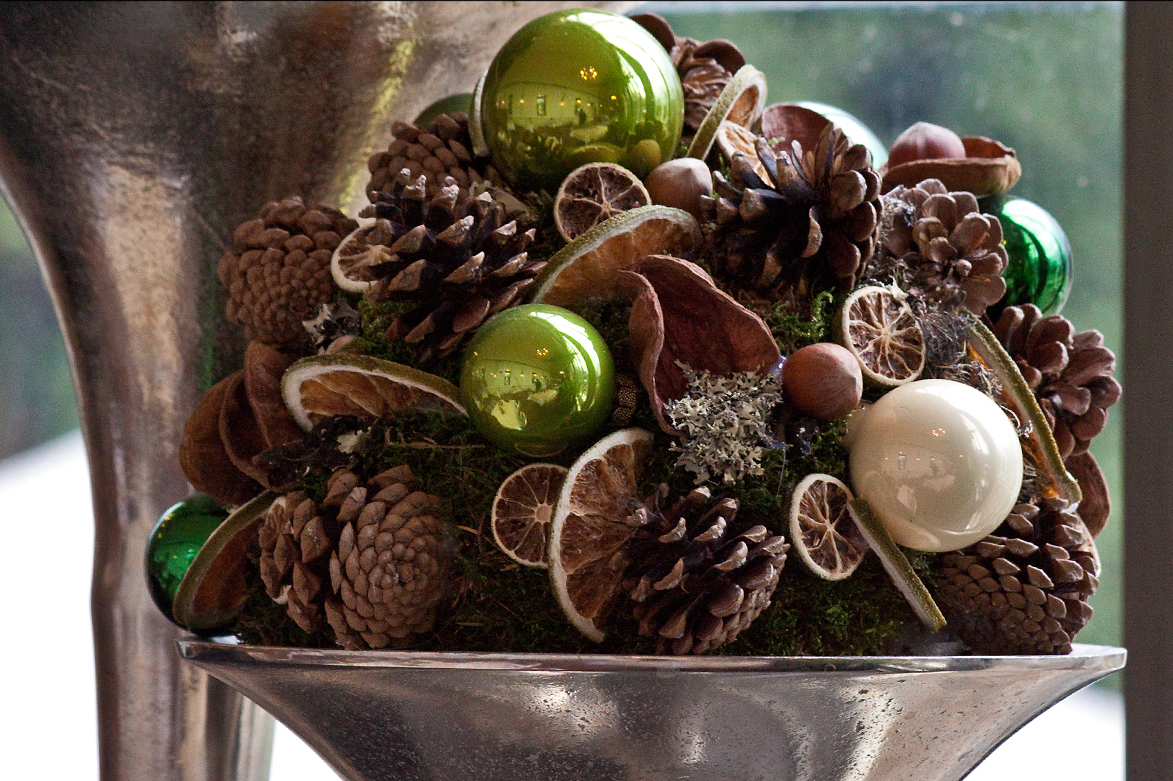 Weihnachtsfeier, Schlosscafé im Palmenhaus