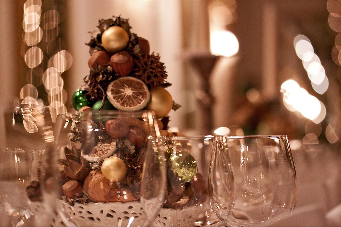 Weihnachtsfeier Schlosscafé im Palmenhaus