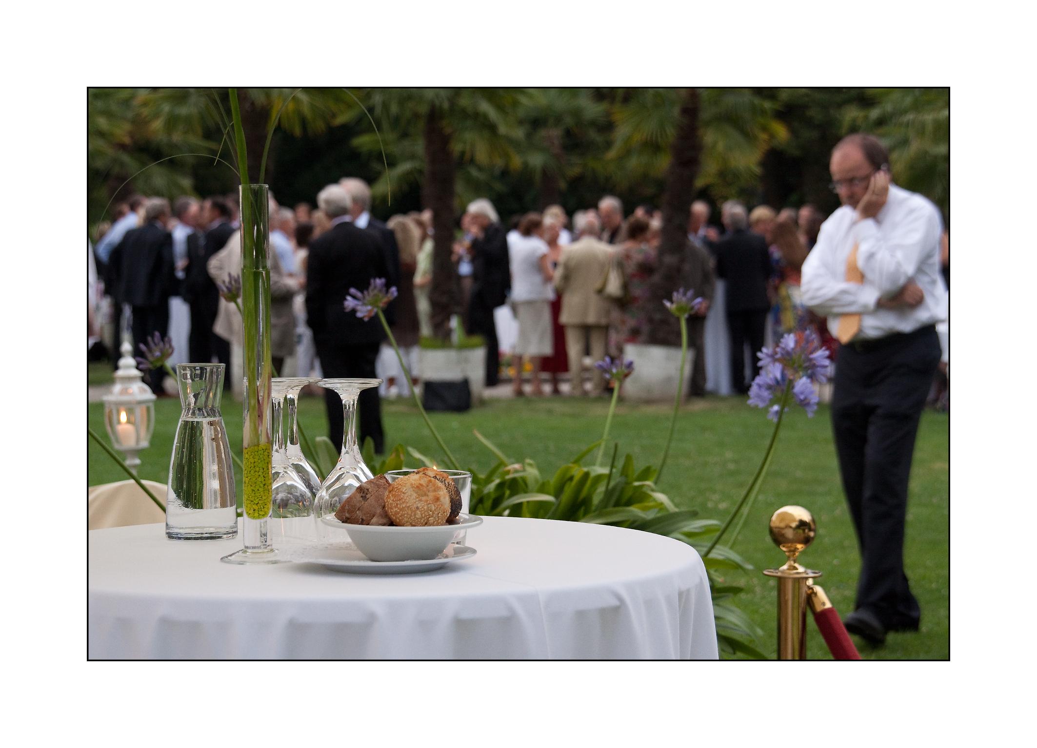 Sommerfest, Schlosscafé im Palmenhaus