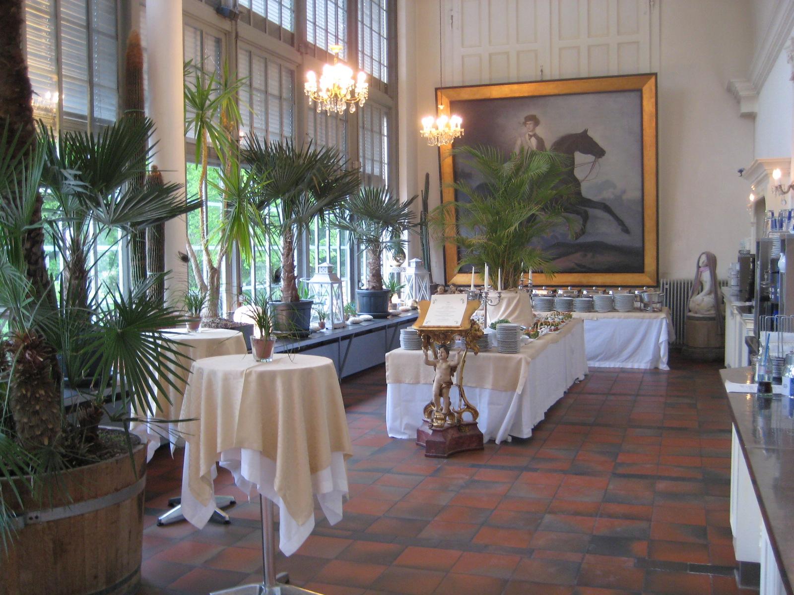Schlosscafé im Palmenhaus, Café