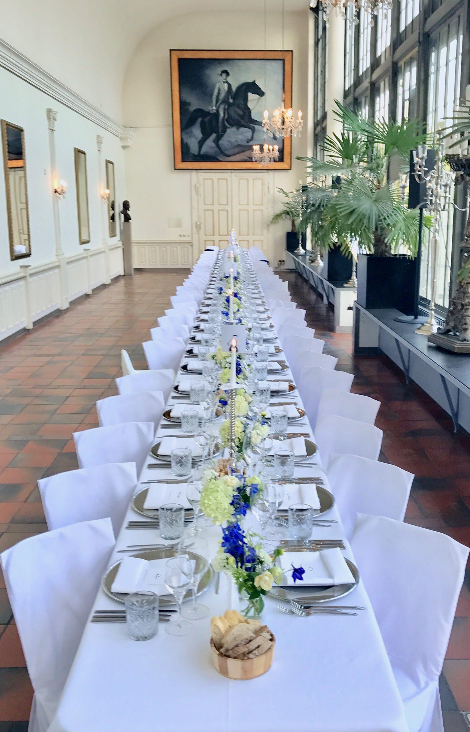Hochzeitstafel Palmenhaus 1