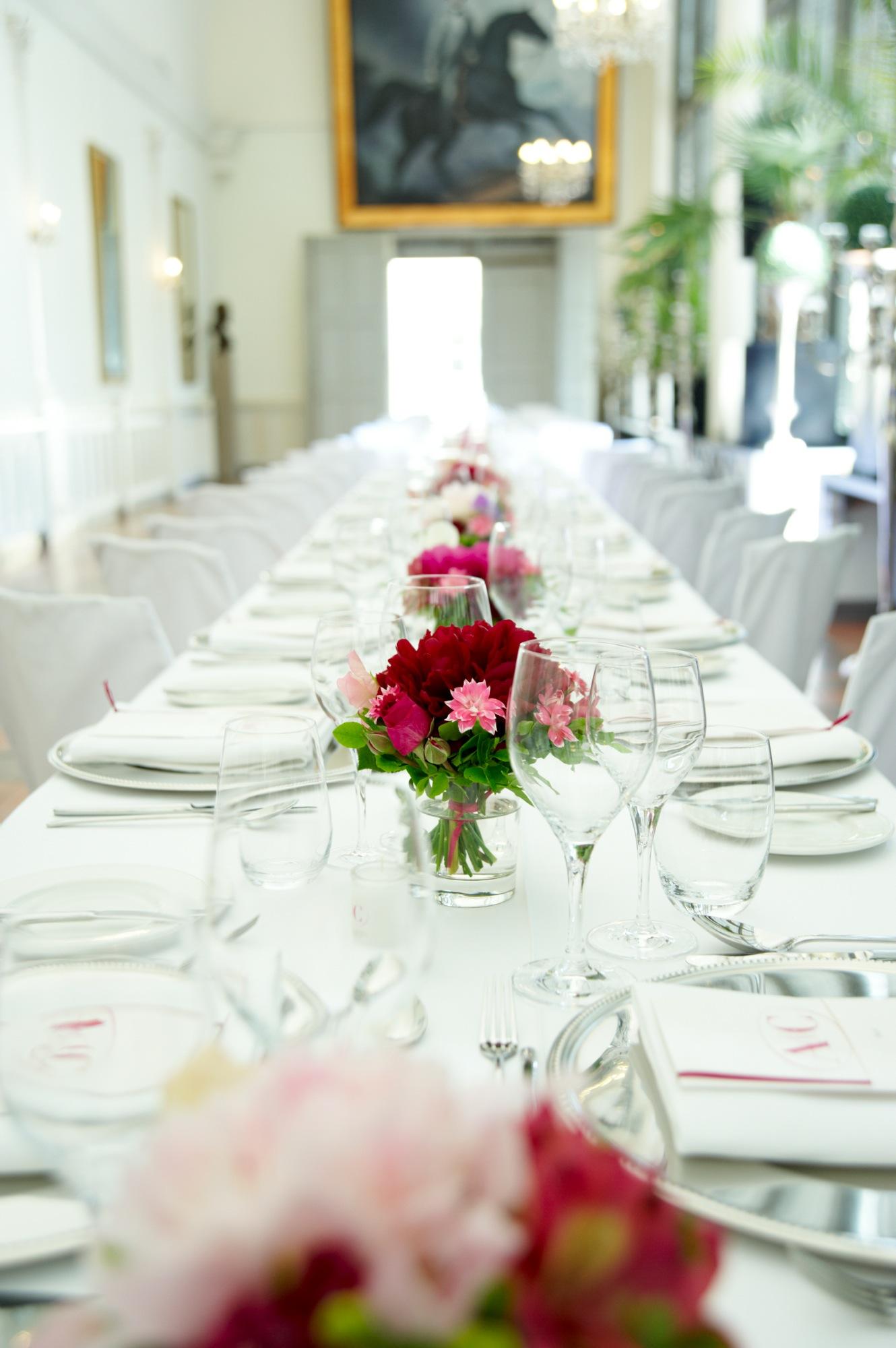 lange Hochzeitstafel