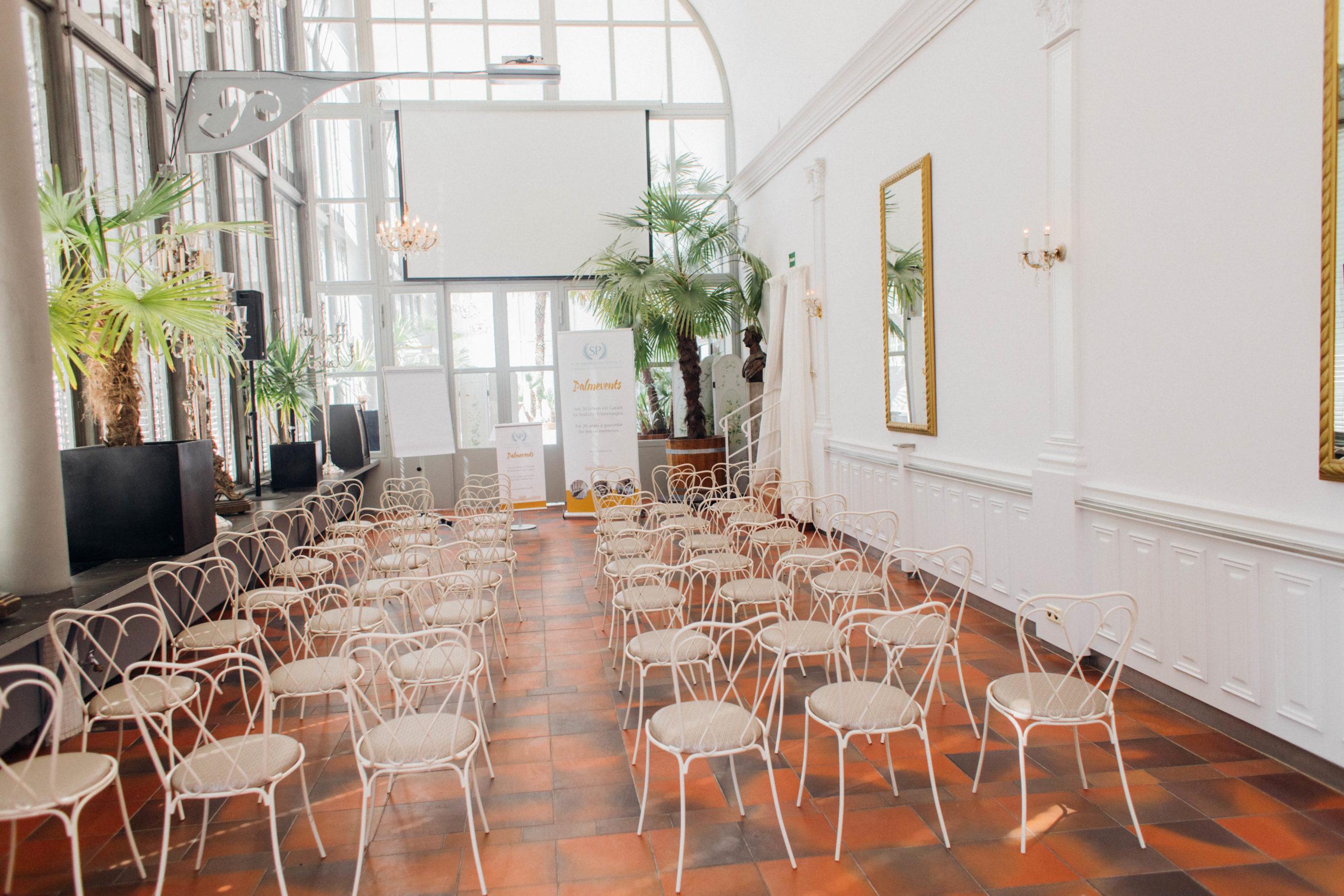 Schlosscafé im Palmenhaus, Tagung