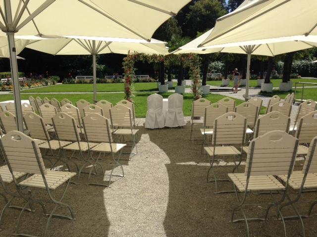 Freie Zeremonie Schlosscafé im Palmenhaus
