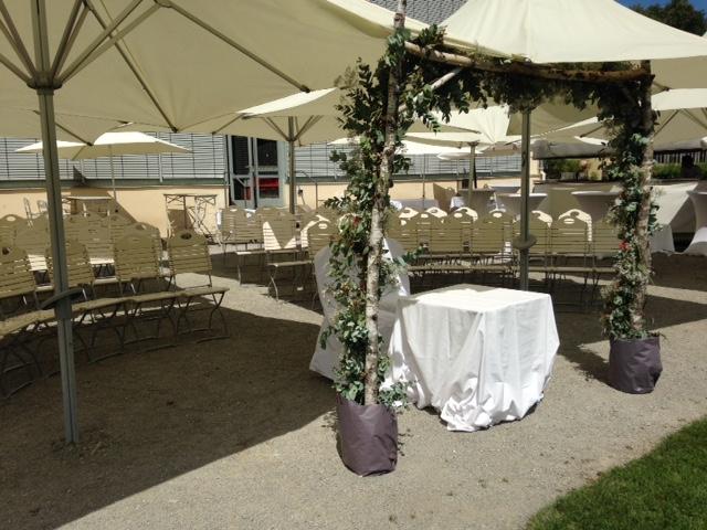 freie Zeremonie Schlosscafé